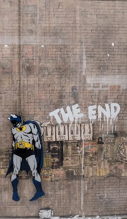 Imagen. Batman The End