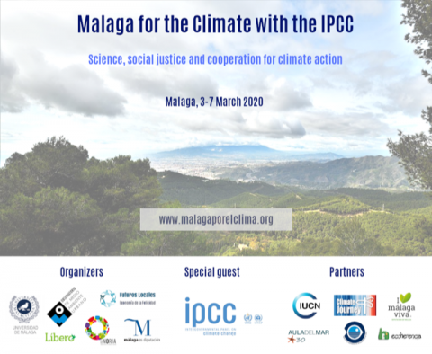 Imagen. Malaga for the Climate with IPCC - banner (1)