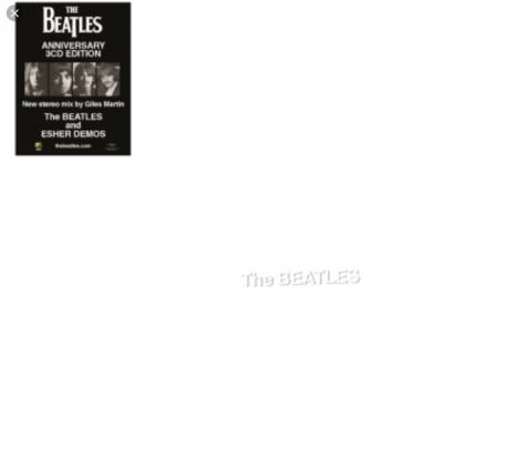 The Beatles ( White Álbum 50 aniversario) 24 bits 96 kHz. Apple. 2018